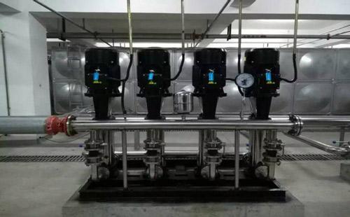变频供水水泵低效运转