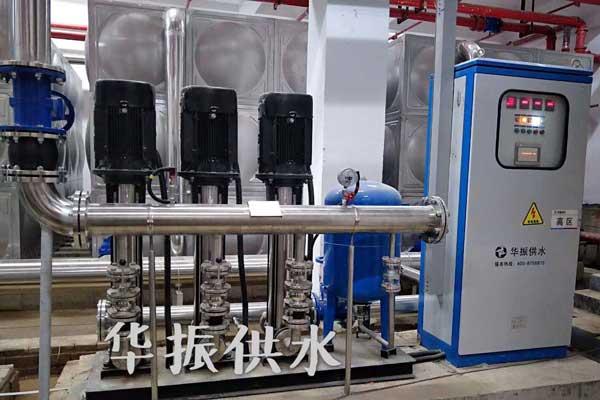 使用无负压供水设备彻底改善传统二次供水方式