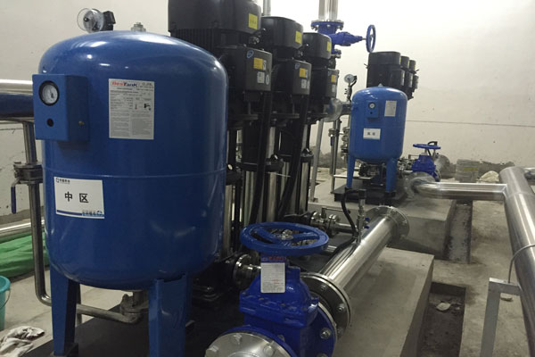 无负压供水设备选型