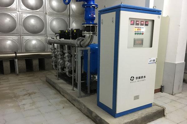 恒压变频供水设备跳闸