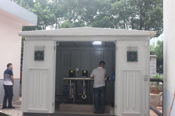 变频恒压供水设备改造