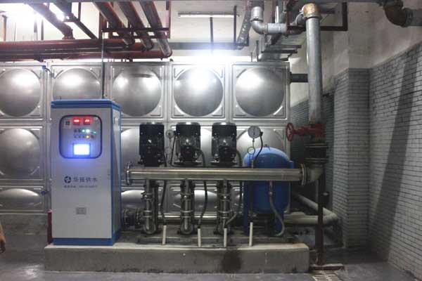 小区二次供水设备改造