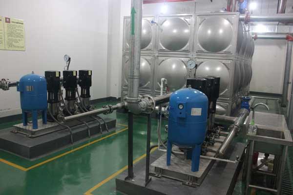二次供水设备验收