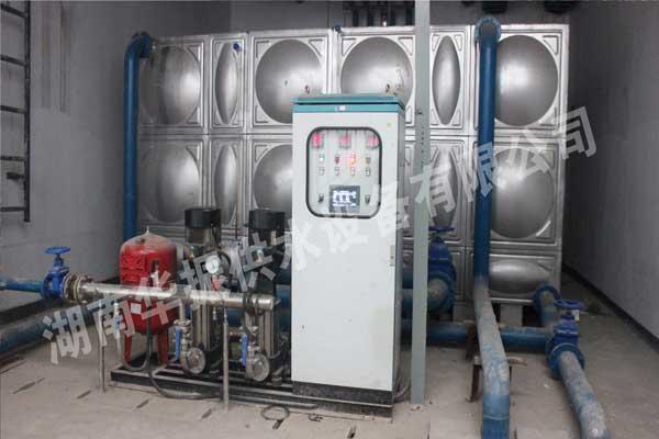 无负压供水设备验收