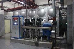 变频恒压供水设备组成结构与所需配件