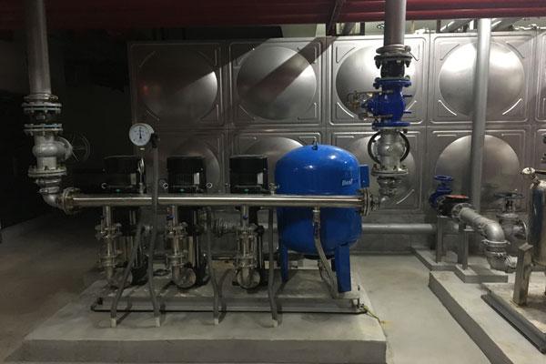 无塔供水设备分类介绍