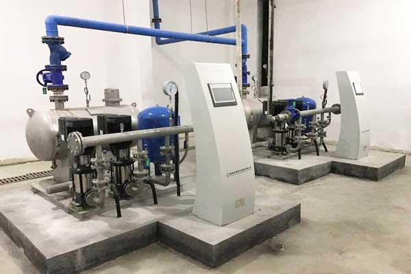 无负压供水设备消除管网负压