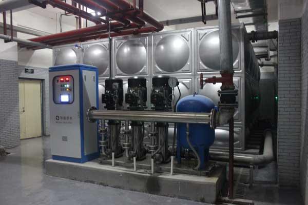 供水设备噪声改造