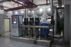 供水设备噪声太大怎么办?推荐改造静音供水设备