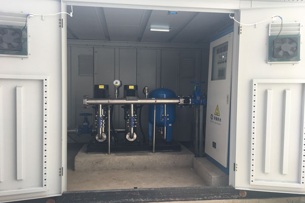 小区供水设备节能改造
